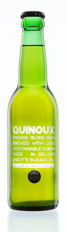 Quinoa, beer, bier, boxy's, Quinoux, sustainable, bottle, Belgium, Gluten free, Sugar free, bio, sustainable