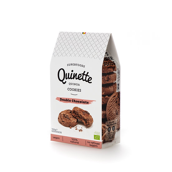 Quinette 100 gr Double Chocolate Cookies