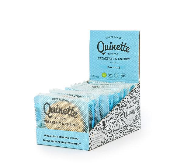Quinette 12 x 50 gr Coconut Breakfast Energy Cookie