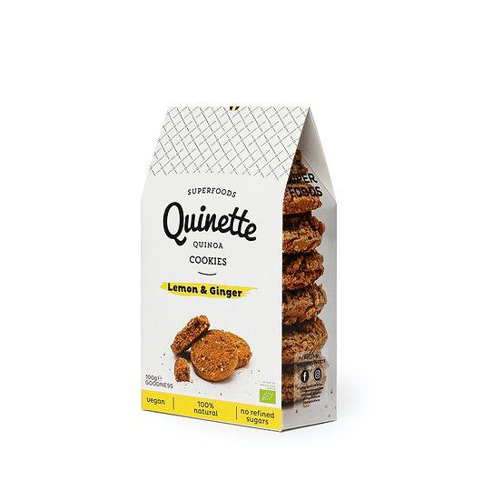 Quinette 100 gr Lemon & Ginger Cookies