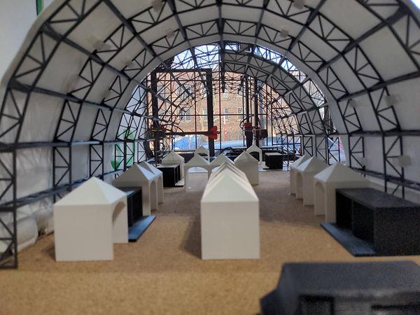maquette 3D dome