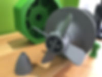 Reduce Model Valve 3D printed