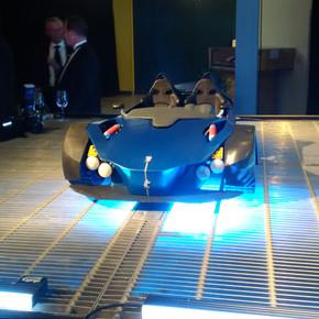 Voiture 3 roues  impression 3D