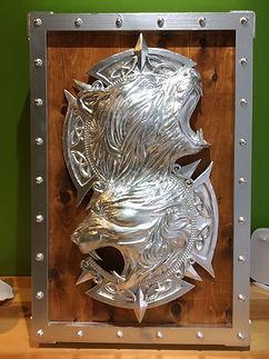 3D printed Shield Cosplay