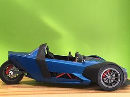 3d model Reduce Car