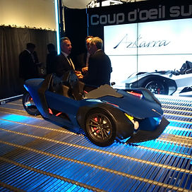 MArketing Event 3D printed car