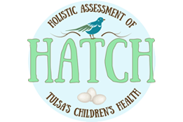 Holistic Assessment of Tulsa's Children's Health (HATCH) Logo