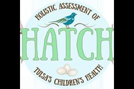 Holistic Assessment of Tulsa's Children's Health (HATCH) Logo