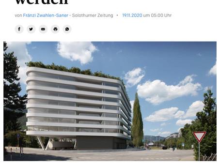 Ein 30 Meter hoher Turm könnte zum Wahrzeichen des Industriegebietes werden