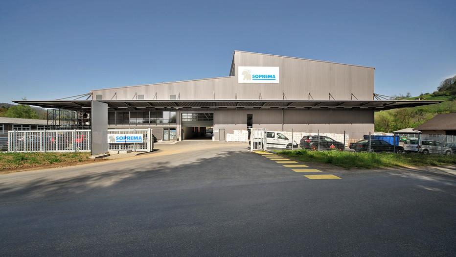 Soprema Logistikzentrum, Spreitenbach