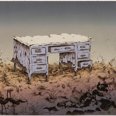 Artists' Desk (State I)