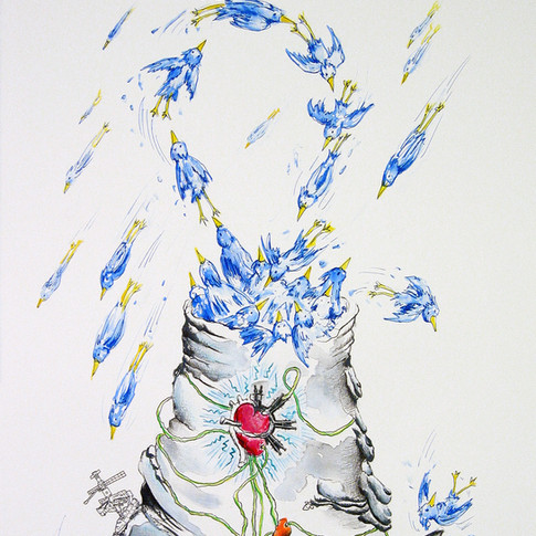Plinian Hiccup: Zealous Bluebirds