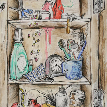 Medicine Cabinet for Lefties
