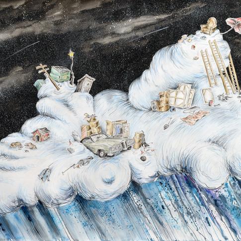 Cloud with Pontiac and Sleeping Dogs