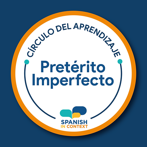 Learning circles IMPERFECT TENSE