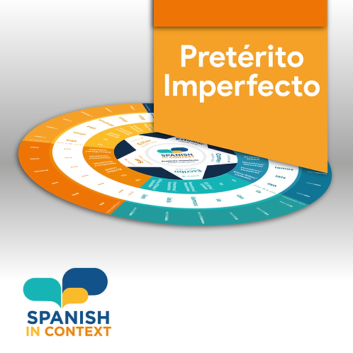Printed Learning Circle - IMPERFECT TENSE