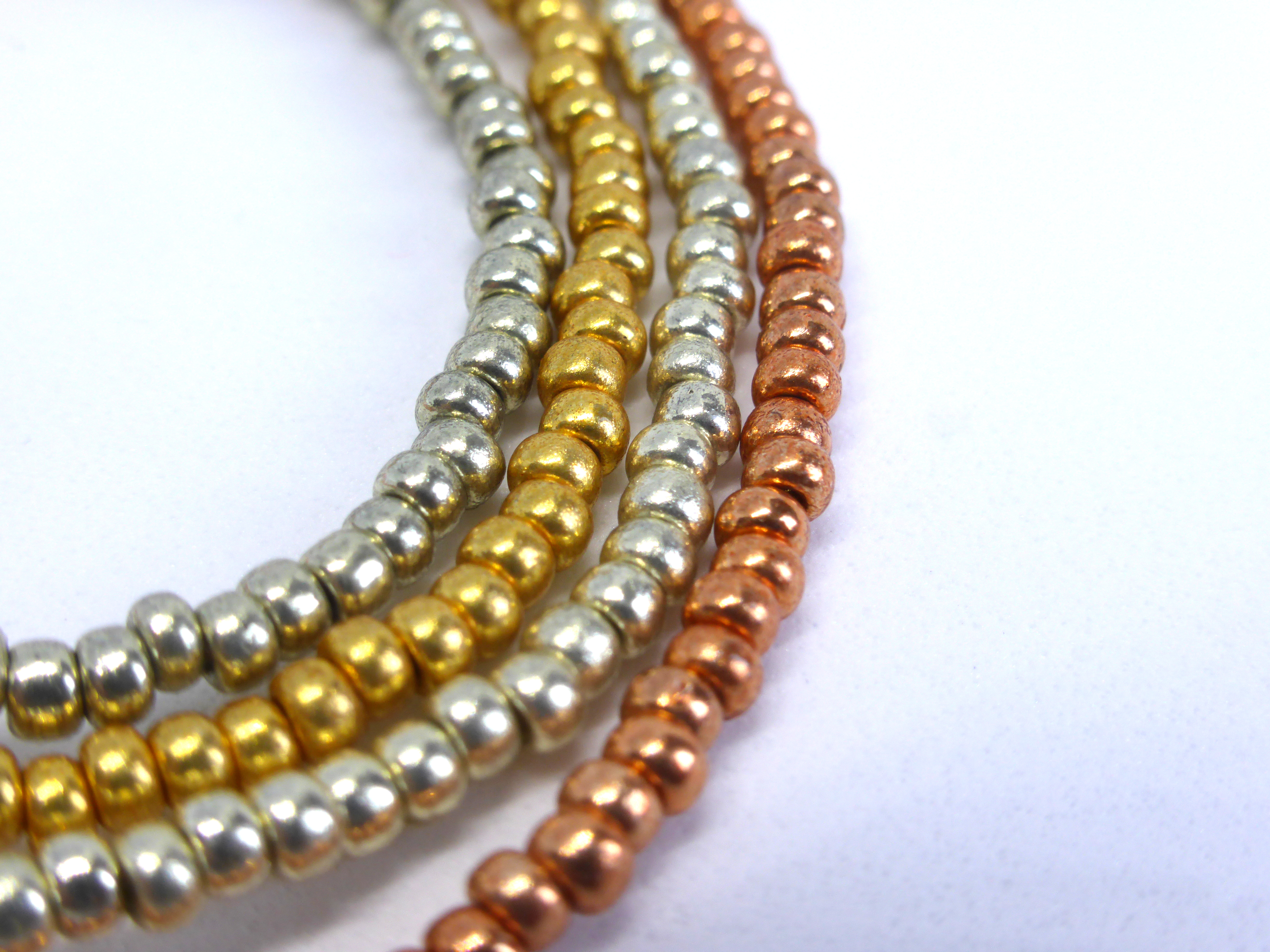 Seed bead colours