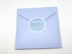 Packaging with Mama Dear branding