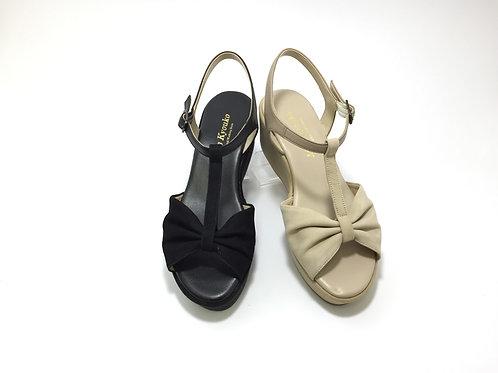 Ribbon Platform Sandals