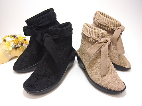 Knit Ribbon Shoes