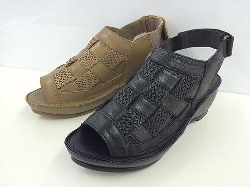 Platform Mesh Sandals