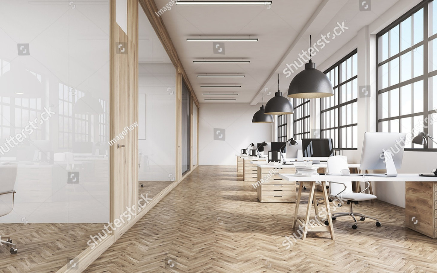 stock-photo-front-view-of-an-office-inte