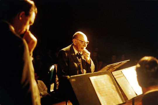 Stravinsky at Univ. of Texas concert 196