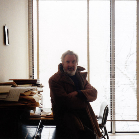 Lothar Klein, Faculty of Music office, Toronto, 1993