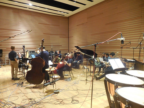 Contemporaneous recording of Myth of Tomorrow album, Dimenna Center for Classical Music, NYC