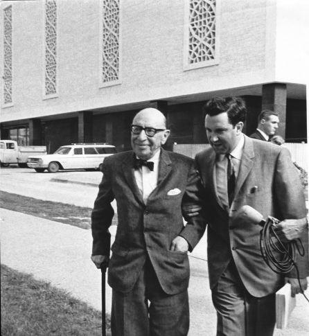 Igor Stravinsky, Lothar Klein,  University of Texas, Austin, 1965