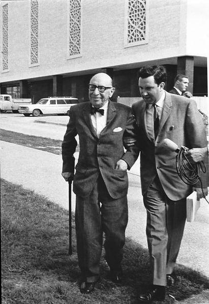 Stravinsky and Lothar Klein, Austin 1965