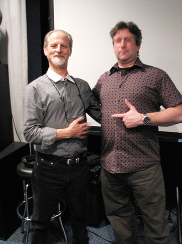 Producer Eddie Kramer, Eric Klein promoting Eddie Kramer plug-in software