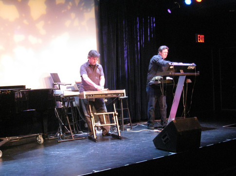 "Eric Klein, Bruce MacPherson perform ""Diplodocus"", Symphony Space, NYC"