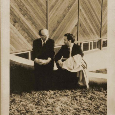 Aaron Copeland, Lothar Klein, Tanglewood, late '50's