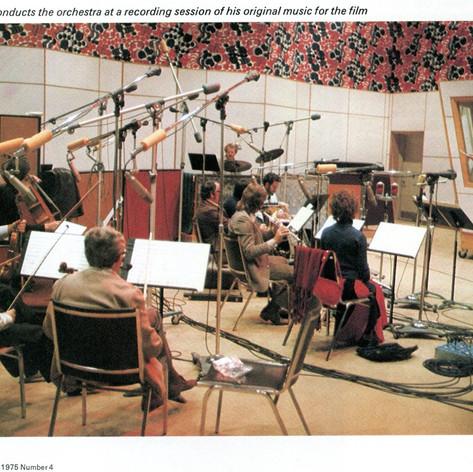 Lothar Klein, Manta Sound Studios, Toronto 1974