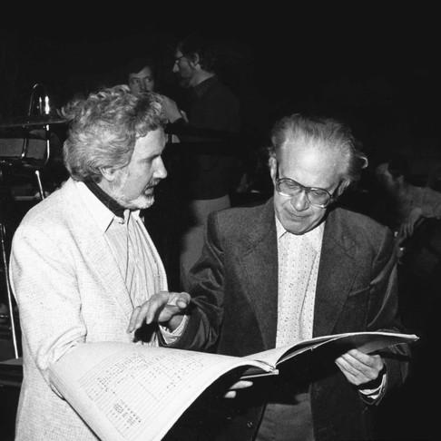 Lothar Klein, conductor Miklos Erderly