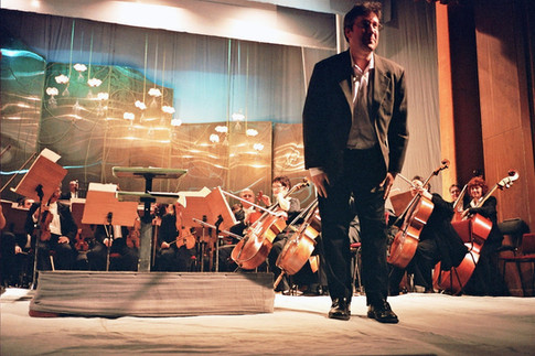 Eric Klein, premier of Transversum for Orchestra, Black Sea Symphony