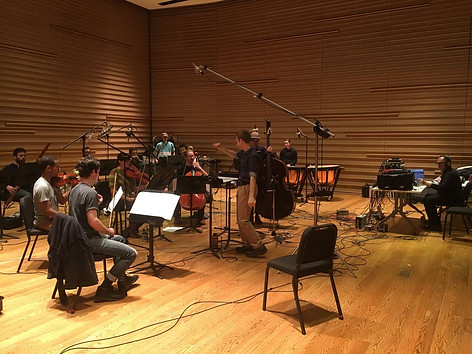 Recording session with Contemporaneous