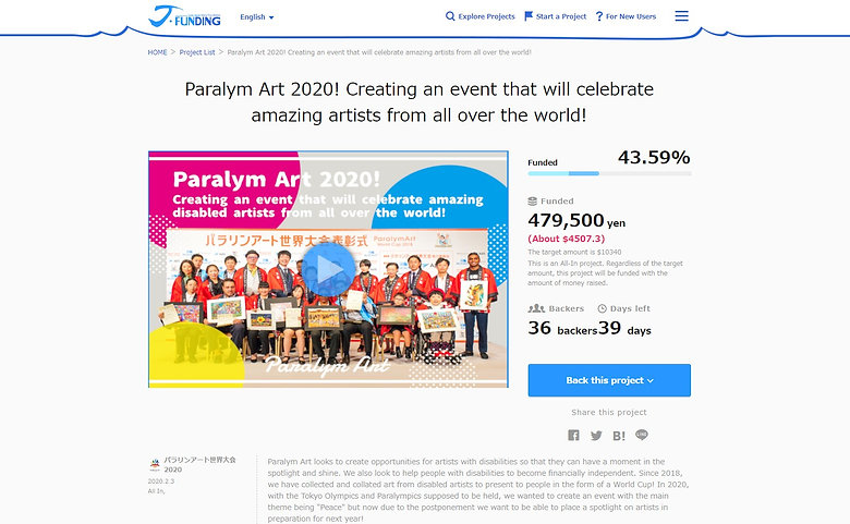 The Crowdfunding Project reaches 40%!