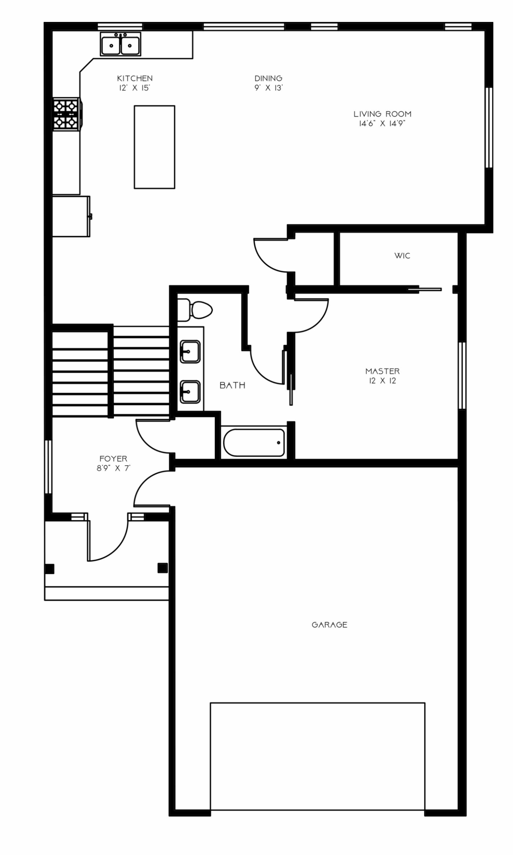 Austen Bi-Level 3 Main Level