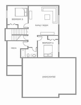 Silver Line Custom Homes Parks Two Story Lower Level High End Residential Fargo ND Floor Plans