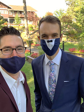 Wedding DJs COVID Friendly Mask Up!
