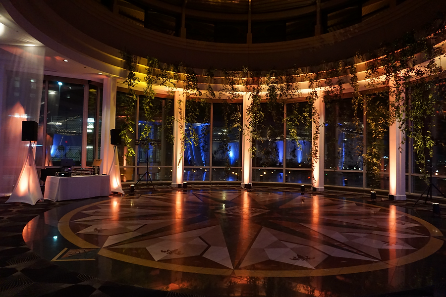 Wedding DJ and Lighting Event Space