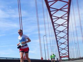 Een marathon lopen bleek niet zo simpel te zijn!