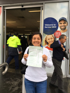 Greassy driving test at Wetherall Park RMS