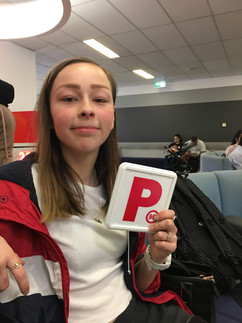 Brooke Dejuric - driving tesst Blacktown RMS , 10 hours driving lessons package