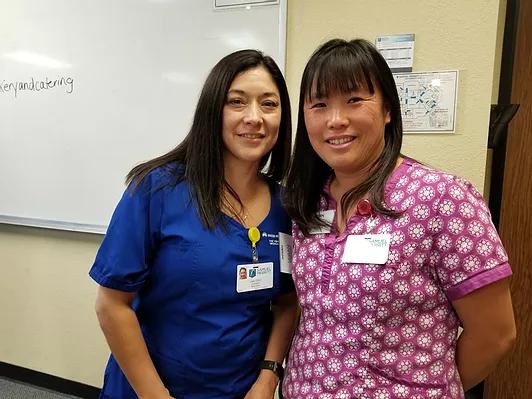 Samuel Merritt University's Community Nurse Corps (CNC) nurse scholars who provided support to the success of this cohort of the WEHL program.
