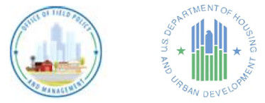 Logos of HUD and Office of Field Policy and Management