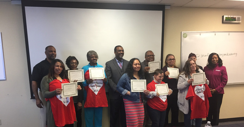 With Every Heart Beat is Life (WEHL) Program Graduation February 23, 2018
