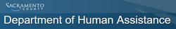 Sacramento County Department of Human As